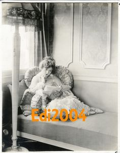 MARION DAVIES Vintage Original Photo Personal Dressing Room 1920's RARE Candid