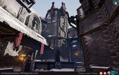 Nordic Castle - Grads In Games SFAS, Christopher Darby on ArtStation at https://www.artstation.com/artwork/bYJ6r