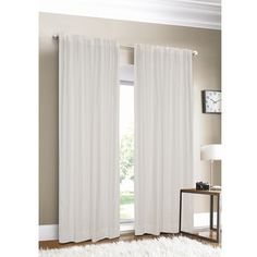 @Overstock - This luxurious linen curtain panel will add stunning and simple elegance to any room. It comes in rich, beautiful colors like blue, green, and white, and the 100 percent linen fabric is sumptuous to the touch and flows elegantly to the floor. http://www.overstock.com/Home-Garden/Luxury-Linen-88-inch-Curtain-Panel/3457386/product.html?CID=214117 $69.99