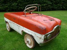1950s Rare Tri-ang Zephyr Duotone Pedal Car Barn Find - http://www.ebay.co.uk/itm/371183042464?clk_rvr_id=727469495623