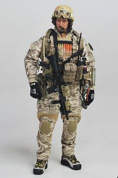 SEAL Team 6/DEVGRU uniform/kit.