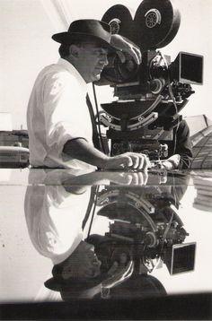 Federico Fellini filming 8½ © Michelangelo Durazzo