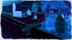 Village at Night Simon Mark Smith www.simonmarksmith.com
