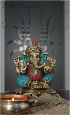 joining me to wish you a happy weekend! Shri Ganesh Images, Sri Ganesh, Ganesh Lord, Durga Images, Ganesha Pictures, Ganesh Idol, Ganesha Art, Indian Inspired Decor, Happy Ganesh Chaturthi Images