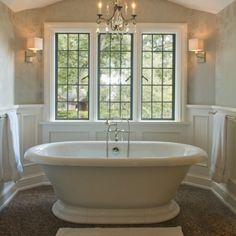 bath tub, windows Houzz.com