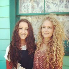I have never wished I had curly hair so much before...
