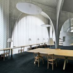 Toyo Ito. Tama Art University Library in Tokyo, photographed by Scott Norsworthy