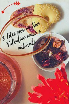 3 idee per un San Valentino dall'atmosfera unica ed afrodisiaca. Scegli ingredienti naturali, seleziona quelli afrodisiaci, risveglia la creatività e crea i tuoi 3 prodotti d'amore. Poi, goditi il piacere di usarli insieme al tuo compagno. San Valentino, 3