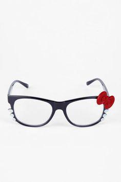 Hey Kitty Glasses in Black $4 at www.tobi.com -- cute!