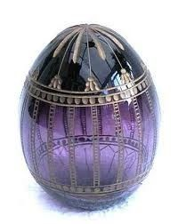 Faberge egg purple