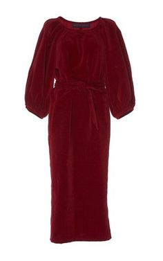 15c082f19b3a Velvet balloon dress - Martin Grant Balloner