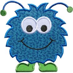 Happy Monster Applique by HappyApplique.com
