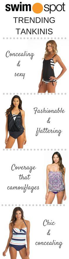5733c60db8 Shop SwimSpot s best selling summer 2015 tankini silhouettes! Beachwear