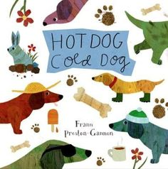 Simple rhyming text and boldly graphic, funny illustrations show off the comically lovable proportions of the dachshund, with its short legs and long body, spirited nature, and cheerful temperament. A
