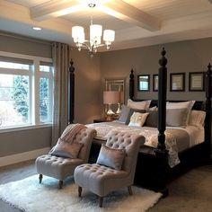 Stunning dark wood bedroom furniture ideas (55)