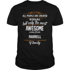 FARRELL Name tee Shirts