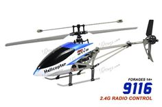 """Double Horse 9116 Medium 4 Channel 15"""" RC Helicopter 2.4Ghz w/ Gyro $62.99"""