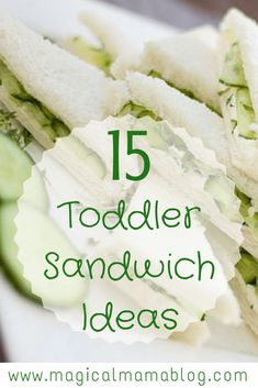 Sneak in some fruits and veggies into your toddler's meals while making your food prep easy! Check out these 15 toddler sandwich ideas! Sandwich Bar, Roast Beef Sandwich, Toddler Sandwiches, Picnic Sandwiches, Kos, For Elise, Baby Eating, Picky Eaters, Kid Friendly Meals