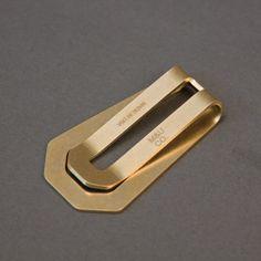 Money Clip - Brass