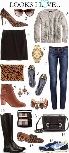 CHIC COASTAL LIVING: Looks I Love fall fashion