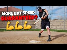 In today's video, Coach Justin from Ultimate Baseball Training shows you 5 ways to instantly increase your bat speed. Once you master these 5 things you'll s. Softball Workouts, Softball Drills, Slow Pitch Softball, Baseball Videos, Baseball Quotes, Baseball Batter, Baseball Mom, Baseball Hitting Drills, Speed Workout
