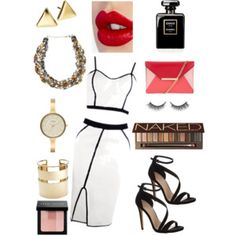 Let's Dance!! Fun and frivolity with white, black and red