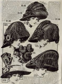 images from 1900 to 1910 | 1900-1919 Patterns and Images - Page Two