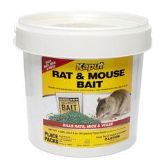 Kaput Rat Mouse Vole Bait - 32 Place Packs 61305 for sale online Best Mouse Bait, Rat Bait Stations, Roof Rats, Mouse Poison, Getting Rid Of Rats, Reptile Accessories, House Mouse, Large Animals, Rodents
