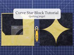 Curve Star Block Tutorial – Quilting Jetgirl