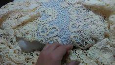 Irish lace Уроки вяз крючком ирландского кружева Бесшовное вязание рукава