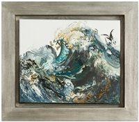 Wave With Diving Seabird, 2018 Maggi Hambling, Image Mix, Sea Birds, Pebble Art, Art Images, Diving, Original Artwork, Auction, Waves