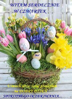 Easter Tree Decorations, Easter Holidays, Easter Baskets, Easter Crafts, Easter Eggs, Flower Arrangements, Bloom, Diy Crafts, Floral
