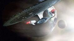 USS Enterprise wish I knew who to give credit to Uss Enterprise Ncc 1701, Star Trek Enterprise, Star Trek Wallpaper, Cool Desktop Wallpapers, Star Trek Ships, Fictional World, Sci Fi, Geek Stuff, Star Wars