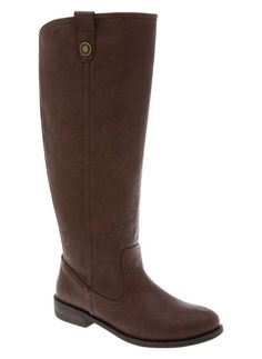 Plus Size Riding Boots by Lane Bryant. Fit perfectly over large calves!