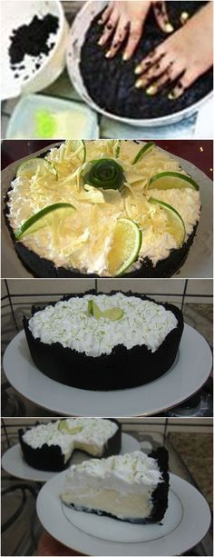 ❤️ Torta Negra de Limão VEJA AQUI>>>Hidrate e dilua a gelatina com a água. Bate todos os ingredientes no liquidificador por uns 3 minutos. #receita#bolo#torta#doce#sobremesa#aniversario#pudim#mousse#pave#Cheesecake#chocolate#confeitaria