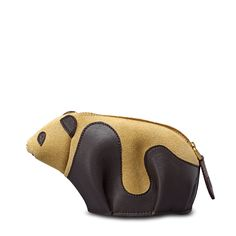 Loewe - panda purse brown/gold - Women's Wallets & Purses