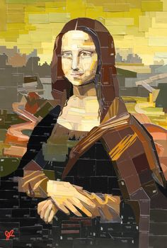 Lot Mona Lisa by Jennifer Lashbrook - WorldCrest Auctions, Inc. Lisa Gherardini, La Madone, Mona Lisa Parody, Mona Lisa Smile, Renaissance, Famous Artwork, American Gothic, Paint Swatches, Art Club