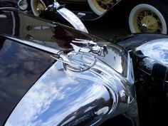 Hood ornament from a 1930's Chrysler.