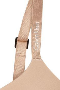 Calvin Klein Underwear - Icon Modern Stretch-satin T-shirt Bra - Neutral - 3