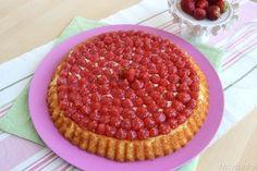 » Crostata con base morbida alle fragole Ricette di Misya - Ricetta Crostata con base morbida alle fragole di Misya