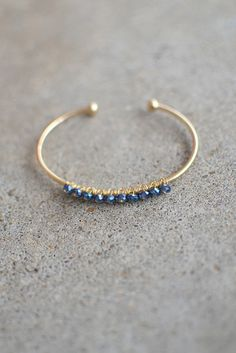 Kylie Bracelet - Prussian Blue from Page 6 Boutique