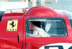 Daytona 1970, Mike Parkes in the NART Ferrari 312P