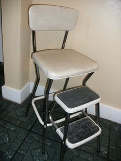 1000 Images About Vintage Step Stool Chair On Pinterest