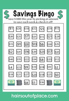 Money challenge 158822324346093665 - 10 Savings Challenge ideas for 2019 including a 52 week savings challenge, bi weekly challenge, 30 day savings challenge and more! Save money this year in a fun and easy way! Weekly Savings Plan, 52 Week Savings Challenge, Money Saving Challenge, Saving Money Chart, Money Saving Tips, Money Tips, Money Budget, Managing Money, Money Hacks