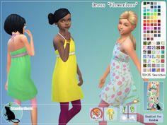 Flowerless dress by Standardheld at SimsWorkshop � Sims 4 Updates