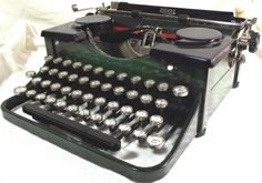 Mathematical royal typewriter 1931