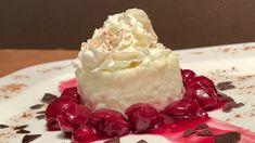 Grieß Pudding mit warmen Kirschen Dessert - Einfach Günstig und Lecker - YouTube