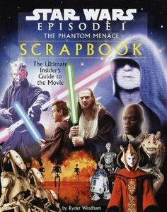 Star Wars Episode 1 The Phantom Menace Scrapbook SB Book 1999 Jedi Powers, Ultimate Star Wars, Star Wars Books, The Phantom Menace, Scrapbook, Star Wars Episodes, Book Activities, My Books, Stars