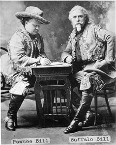 Pawnee Bill and Buffalo Bill ~ Colorado City Colorado ~ 1880