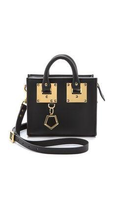 Sophie Hulme Mini Box Tote Bag Rent The Runway, Sophie Hulme, Beautiful Handbags, Leather Interior, Dust Bag, Wristlets, Leather Handbags, Purses And Bags, Cross Body